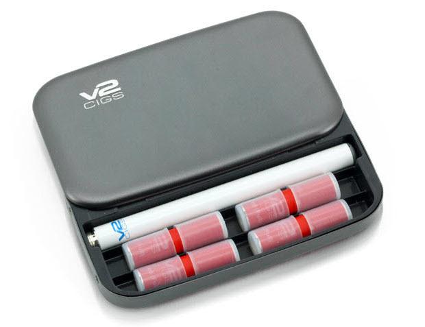 V2Cigs E Cigarette Metal Carry Case
