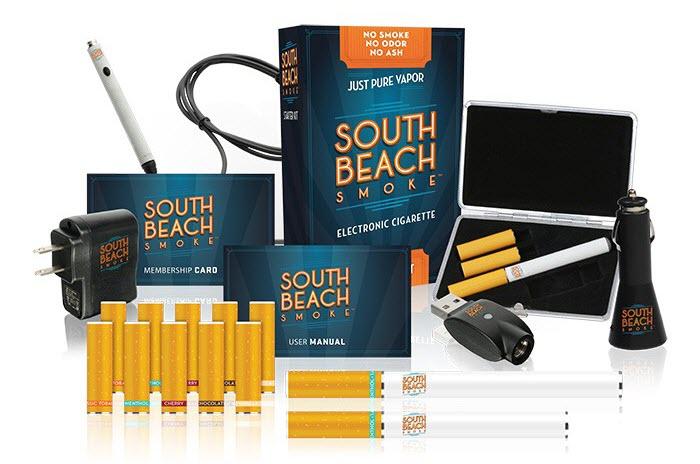 South Beach Smoke E Cigs Kit